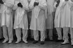 Eritrean men usually wear tunics and loose pants, they usually wear this at weddings.