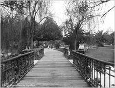 1910 - Jardim da Praça de República / República Square Garden. Foto/Picture: Guilherme Gaensly
