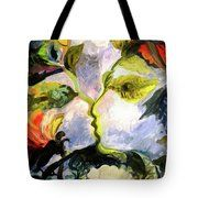 Painting Tote Bag by Nada Sucur Jovanovic