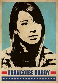 Francoise Hardy Art Music Poster