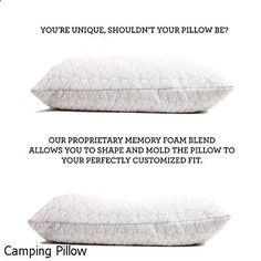 Camping Pillow - large choice. Must visit...