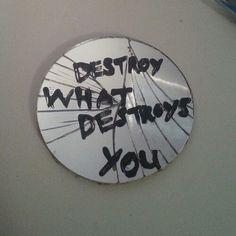 my mind destroys me.