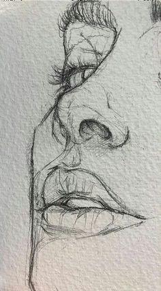 easy drawings for beginners / easy drawings . easy drawings for beginners . easy drawings step by step . easy drawings for kids . easy drawings for beginners step by step . easy drawings for beginners simple . Cool Art Drawings, Pencil Art Drawings, Art Drawings Sketches, Drawing Ideas, Drawing Tips, Drawing With Pencil, Drawings Of Eyes, Pencil Sketches Easy, Portrait Sketches