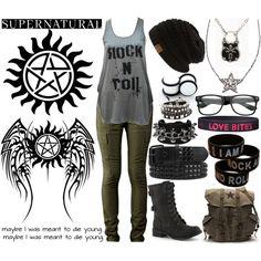"""""""Supernatural"""" by xxxburningcoldxxx on Polyvore"""