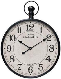 Grand Central Pocket Watch Wall Clock - Clocks - Framed Art - Unframed Art - Wall Sculptures - Home Decor - Wall Decor - Gifts | HomeDecorators.com