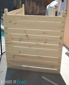 Pool Equipment Cover Ideas wood pool equipment enclosure How To Build A Pool Or Ac Equipment Cover