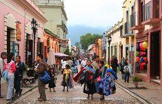 San Cristobal de las Casas, Chiapas -- misty mountains, colorful streets :)