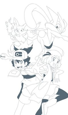 Satoshi Pokemon, Ash Ketchum, Perfect Couple, Catch Em All, Pokemon Fan, All Art, Cool Pictures, Deviantart, Cool Stuff