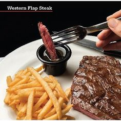 Para almorzar hoy nada mejor que un Western Flap Steak ¡Un jugoso corte Angus a la parrilla al término de tu preferencia! solo en Chef Pepper de #sanjuanshoppingcenter #bavaro #puntacana #chefpepperrd