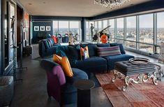 This condominium is every art collector's dream haven. #InteriorDesign