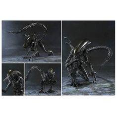 Alien vs Predator Alien Warrior SH MonsterArts Action Figure - Bandai Japan - Alien vs. Predator - Action Figures at Entertainment Earth http://www.entertainmentearth.com/prodinfo.asp?number=BA85176&id=TO-603025911