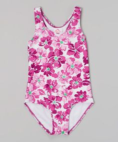 Look at this #zulilyfind! Purple Lei One-Piece - Infant, Toddler & Girls #zulilyfinds