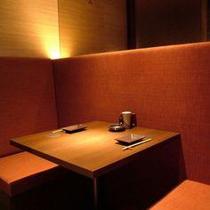 Okayama 岡山 Restaurant 楽蔵 岡山本町店 お席  個室2名様×5    2人でゆっくり語りたい、そんな時に