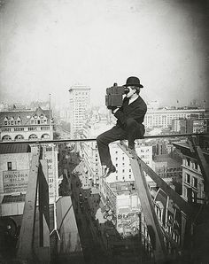 Bestand:Filming above Fifth Avenue, looking North, 1905.JPG