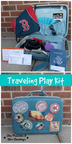 Traveling Play Kit for Kids l The Princess & Her Cowboys