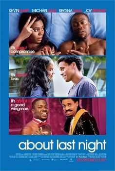 About Last Night is an upcoming American romantic comedy film starring Kevin Hart, Michael Ealy, Regina Hall, and Joy Bryant. Directed b. Streaming Hd, Streaming Movies, Hd Movies, Watch Movies, Movies 2014, Movies Free, Cricket Streaming, Film Watch, Funny Movies