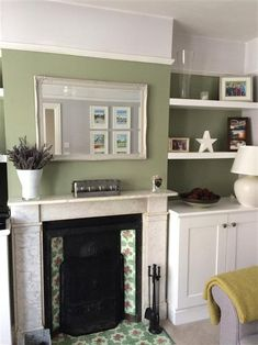 Kitchen, farrow and ball living room, farrow and ball paint, farrow ball, h Hallway Colours, Farrow And Ball Living Room, Breakfast Room Green, Bedroom Interior, Living Room Decor, House Inside, Living Room Grey, Farrow Ball, Farrow And Ball Kitchen