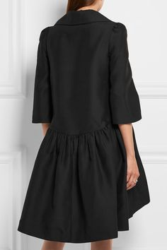 Co | Pussy-bow woven dress | NET-A-PORTER.COM