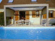 Pergola Attached To House Plans Patio Pergola, Pergola Swing, Pergola Shade, Patio Roof, Pergola Plans, Pergola Kits, Gazebo, Backyard, Pergola Attached To House