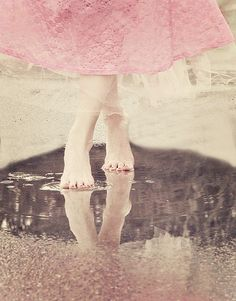 It rains a lot here - now I just need someone to dance barefoot in the rain with me...