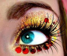 Alice in Wonderland Eye Art ~ by Brittneyr on deviantART