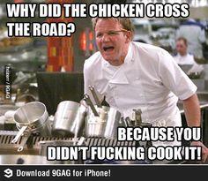 best chicken crossing the road joke ever