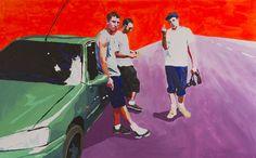 #359 Acrylic on canvas, 160x100 cm, 2013  Laura Zimmermann