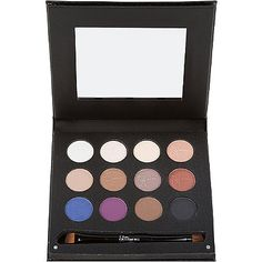 It CosmeticsLuxe Anti-Aging High Performance Eye Shadow Palette w/Dual Brush