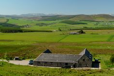 Bluefolds Steading cottages - Left Glenlivet, centre Aberlour and right Dronach. Views to mountains in Cairngorms National Park