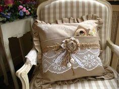 Текстиль, ковры ручной работы. Ярмарка Мастеров - ручная работа. Купить Декоративная подушка Винтаж. Handmade. Подушка, хлопок 100%