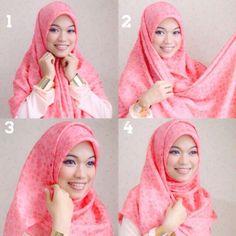 Hijab tutorial by gda's by ghaida