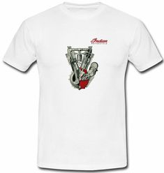 Indian Motorcycle Logo T-shirt available size: S M L XL  #fashion #clothing #shoes #accessories #mensclothing