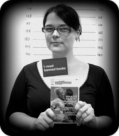 Fun idea for Banned Books Week: Libraries having patrons take photos with their favorite banned book.