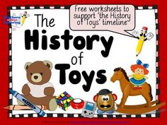 FREE!!! The History of Toys worksheets - ready to print and use in your classroom. Click the link to check this product out!