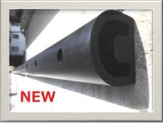 新製品PCS-150 物流センターでよく見かけるプラットホームクッションに【機能性・耐久性・低コストを実現】