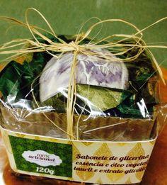 Sabonete de glicerina 100% artesanal  - gardênia branca