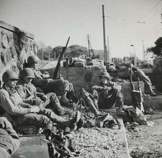 Robert Capa, campagne d'Italie, Anzio, 1944