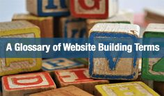 A Glossary of Website Building Terms - Website Creation Workshop