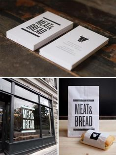 The studio (Glasfurd & Walker) was approached to created a strong, masculine identity and brand design which communicates the restaurant's simple and uncomplicated offer.