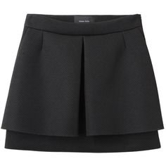 Simone Rocha Mesh Pleat Front Skirt found on Polyvore