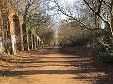 The abandoned London Underground line that became one of North London's most treasured walks - MyLondon Underground Lines, London Underground, Thames Barrier, Finsbury Park, Walks In London, Hampstead Heath, Richmond Park, London Architecture