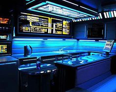 Star Trek apartment.Homes inspired by Movies