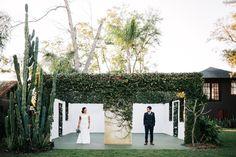 A stylish, fun outdoor wedding celebration at the Acre in Orlando, Florida | Eclectic & unique Florida wedding venue | Modern & creative wedding photography
