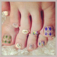 my nail♡