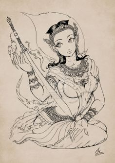 Lady of Ayutthaya by In-Sine.deviantart.com on @deviantART