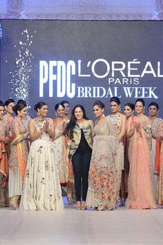 The coveted House of Sania Maskatiya has showcase an elite mind blowing bridal collection titled, Ara Ornaments at the PFDC LOreal Paris Bridal Week on Tuesday September Pakistani Bridal Wear, Pakistani Wedding Dresses, Bridal Dresses, Net Dresses, Pakistan Bridal, Desi Wedding, Bridal Fashion Week, L'oréal Paris, Displaying Collections