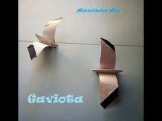Origami - Papiroflexia. Gaviota de papel, muy fácil - YouTube