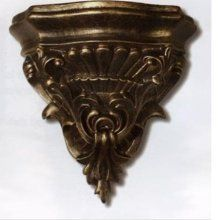 Merveilleux This Craftmade Carved Decorative Wall Sconce Shelf Will Look Far More Like  A Stunning Piece Of