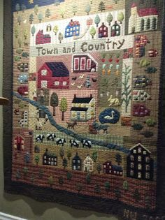 This an adaption of a Jan Patek girl gang quilt that I made several years ago. Several of us made them and changed them to tell our own pe...