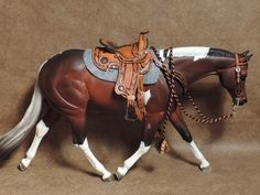 Breyer or peter stone traditional western by Itsallaboutcrochet